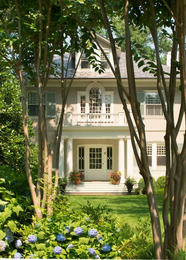 Architectural Firms Washington Dc American Foursquare House Foursquare  Style Home Architecture Styles Renovation Residential Architect Stucco  Stucco House ...