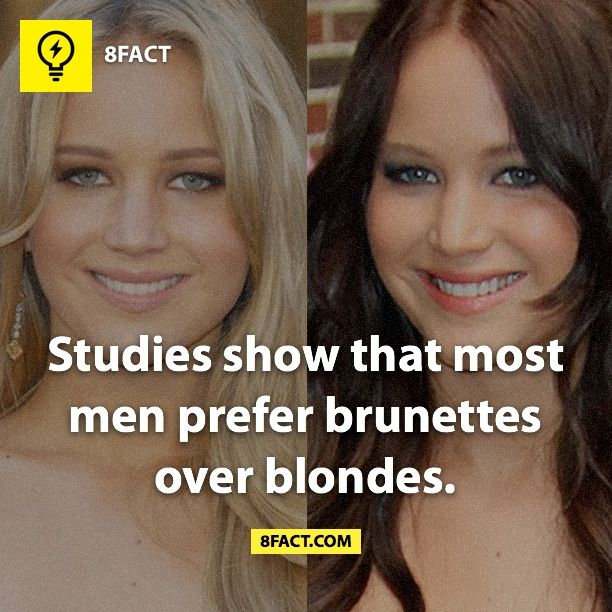 Pin By Majd Nabil On F Funny Facts Blonde Vs Brunette Wtf Fun Facts