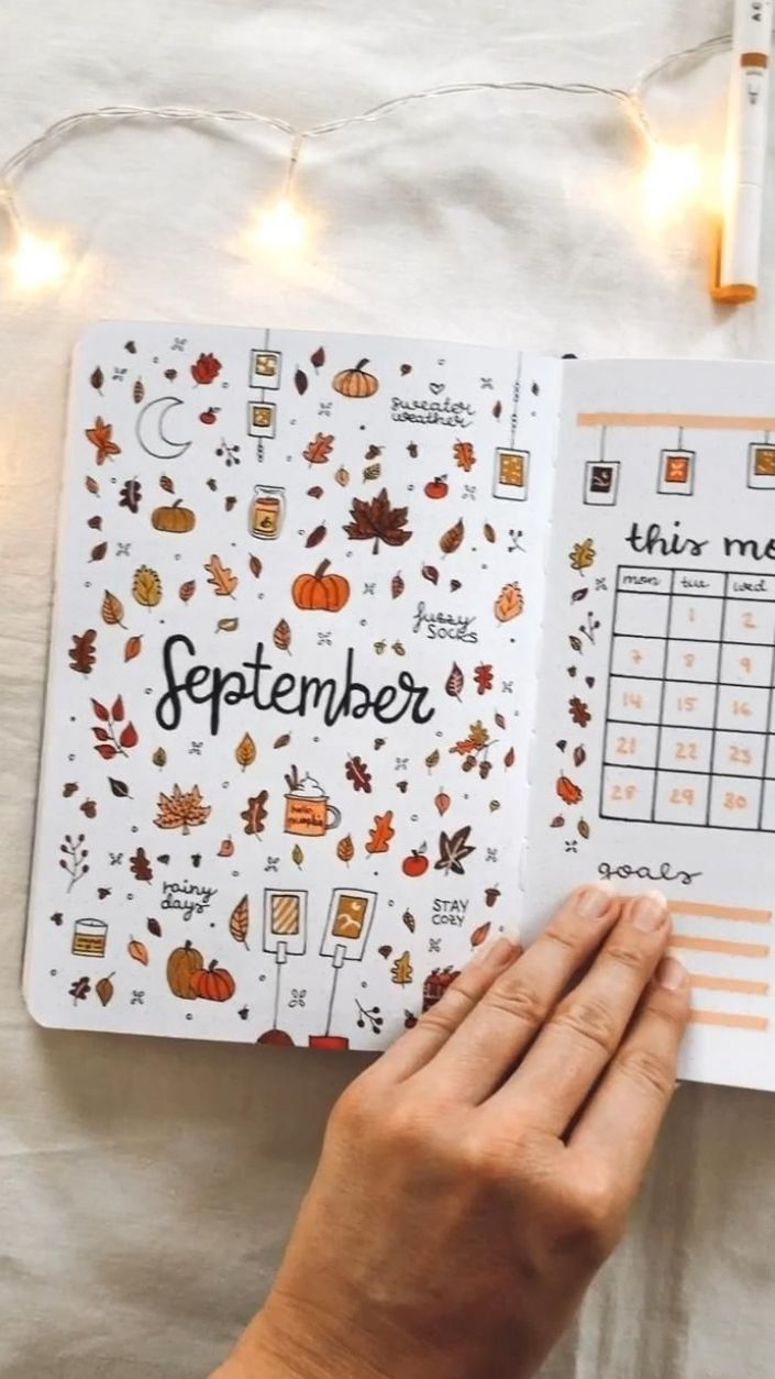 September Bullet Journal pt.1 🍂 @somekindwords Computer schedules offer those that have an opportune solution to account for the changing times as well as their appointments. This stuff occur in a variety of kinds, hues and also configurations. For those who might ponder why many people should choose this kind of appointments previously mentioned all the rest, there are many often-cited reasons why you should help guide one out of acquiring the answer to that question. #printablecalendar #calen