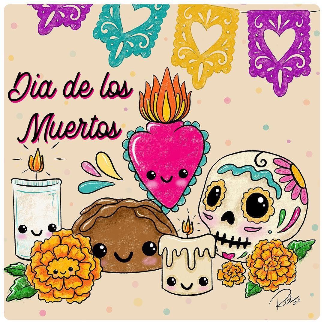 Feliz Dia De Los Muertos Thehappyskullstudio