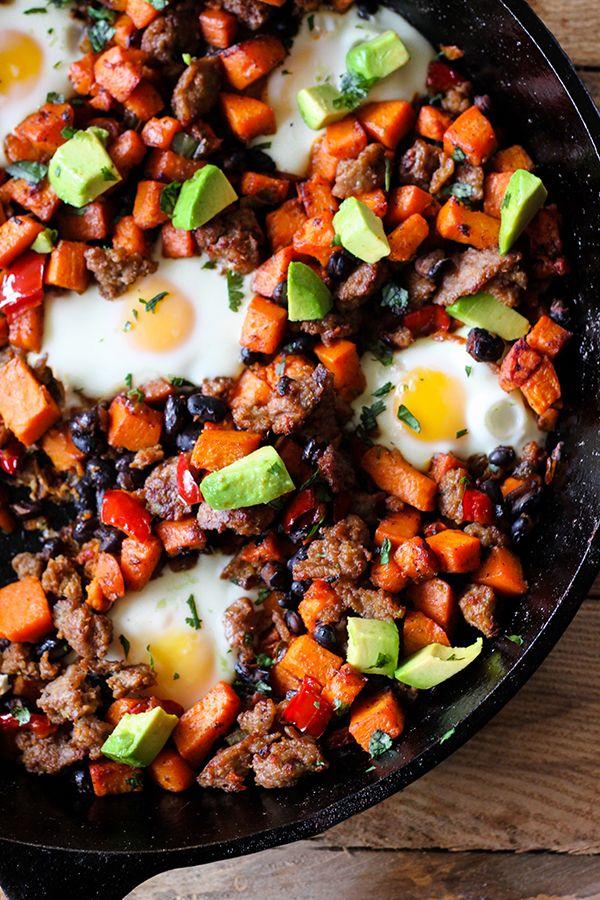 Southwestern Skillet Sweet Potato Breakfast Hash Recipe Sweet Potato Breakfast Hash Sweet Potato Breakfast Sweet Potato Hash