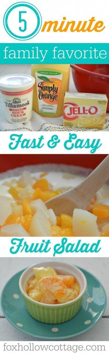 Photo of Receta rápida y fácil de ensalada de frutas de 5 minutos / #ensal