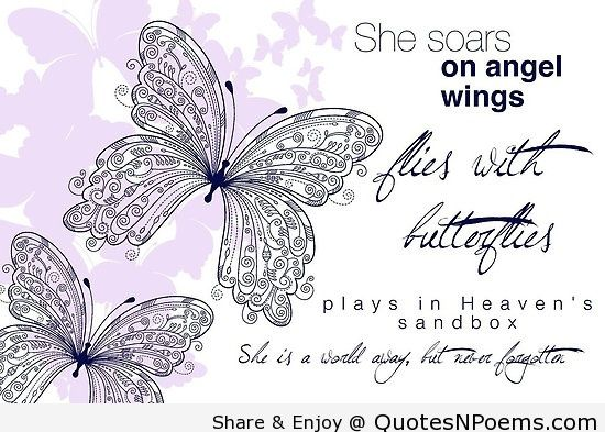 On Angels Wings Poem Google Search Share Pinterest Quotes