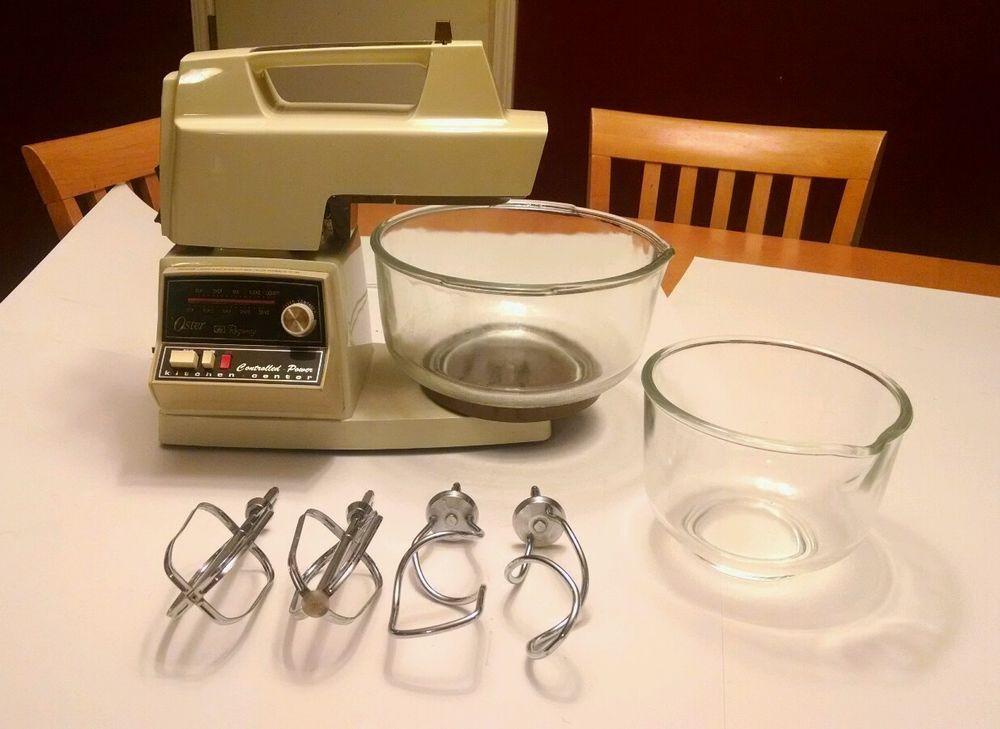 Oster Regency Kitchen Center Stand Mixer control powered mixer ...