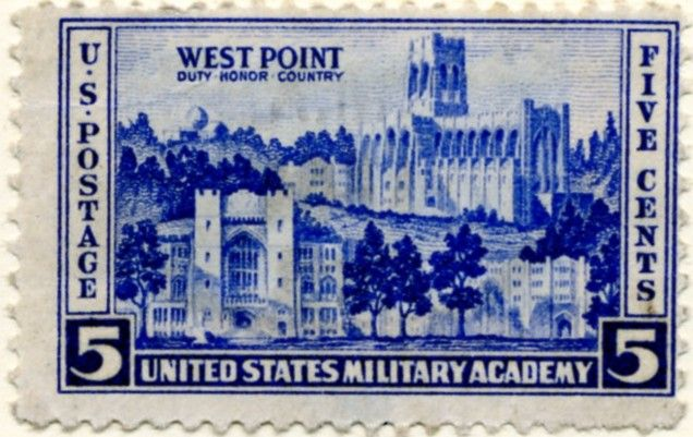 Scott 789 5 Cent Stamp West Point Military Academy A In 2020 United States Military Academy Postage Stamps Usa United States Military