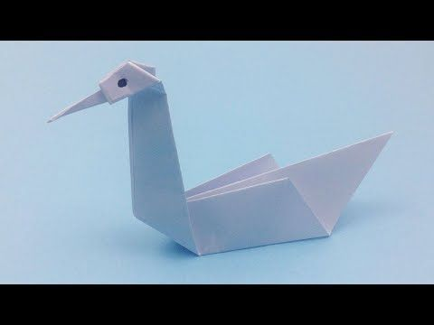 Diy 3d Origami Swan Tutorial How To Make Easy Origami Swan Paper