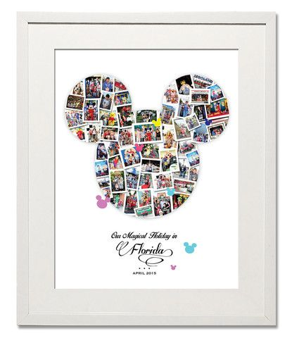 Magical Mickey Photo Collage - Treasure on the Wall - 1 ...