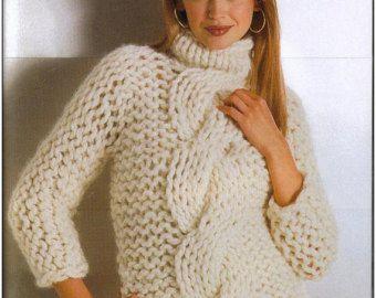 Tejido a mano de las mujeres mano suéter de cuello alto de punto cuello  redondo de cuello de ropa suéter cardigan suéter de la mujer con cuello en v f06de8a0ad36