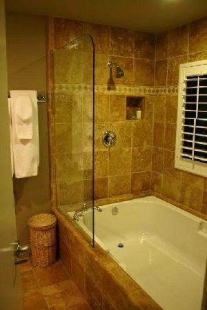Travartine Bathroom With Tub Pictures Travertine Shower