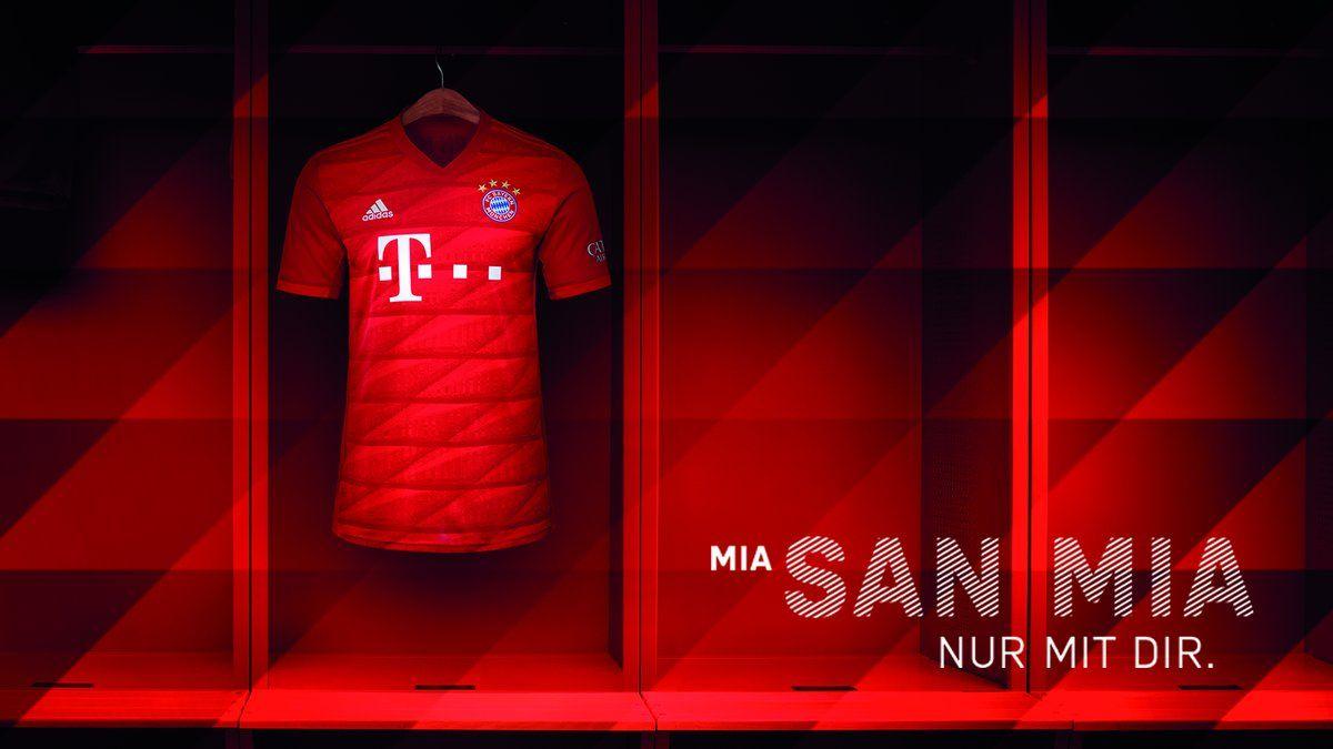 19 20 Bayern Munich Home Red Jerseys Shirt Bayern Munich Cheap Soccer Jerseys Online Store Miasanmia Bayern Munich Bayern Jersey Shirt