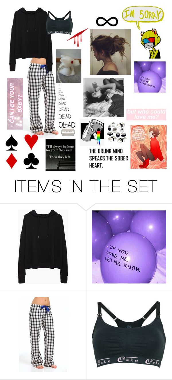 """IM 50RRY...."" by xcreative-lil-psychox ❤ liked on Polyvore featuring art"