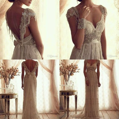 Anna campbell dress dream wedding pinterest anna for Anna campbell vintage wedding dress