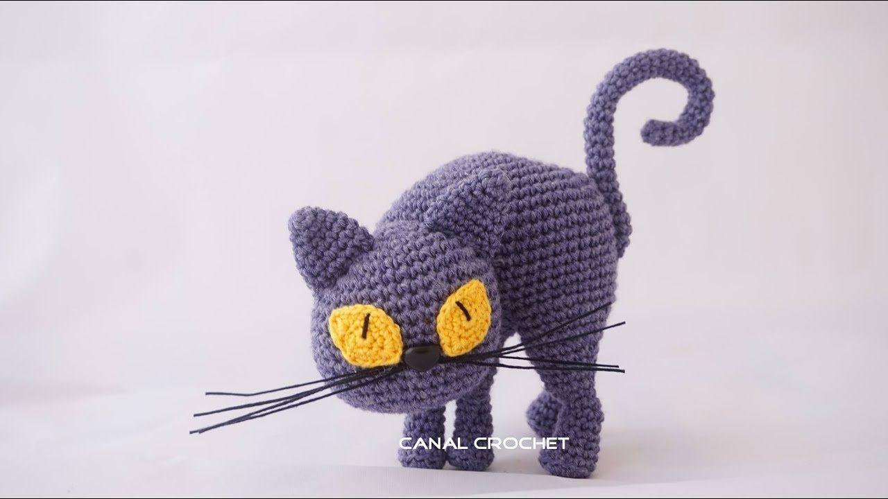 Gato amigurumi tutorial | AMIGURUMI | Pinterest | Amigurumi tutorial ...
