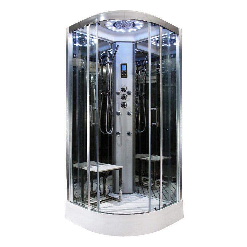 Insignia Platinum Quadrant Shower Cabin Shower Cabin Steam