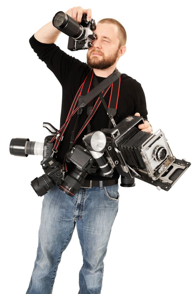 sumnersgraphicsinc - Fotolia.com Don't be obsessed with the gear: having too  much equipment is … | Photography tricks nikon, Framing photography, Book  photography