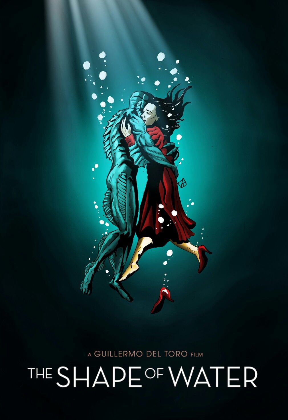 The Shape Of Water Fan Art By Rafael Danesin Thủy Quai