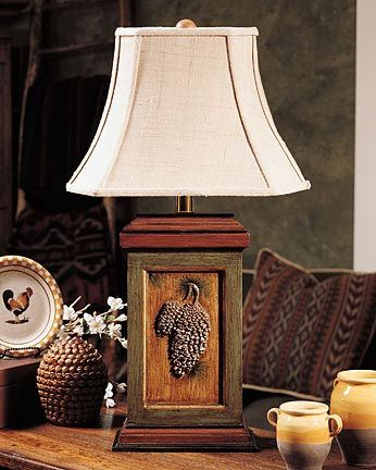 Lodge Amp Lakehouse Table Lamps Pinebrook Table Lamp Maine