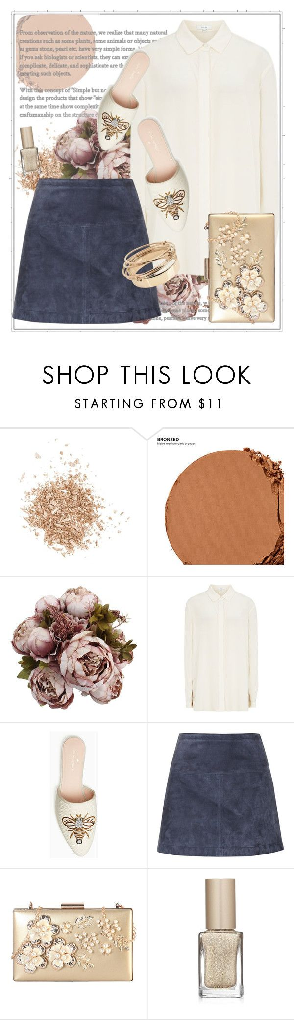 """Без названия #283"" by kalashnikovanataly on Polyvore featuring Topshop, Urban Decay, Burberry, Rimen & Co., L'Oréal Paris and Valentino"