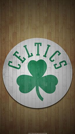 Boston Celtics Mobile hardwood Logo Wallpaper
