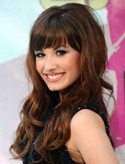 Hair Bangs 2012 Long Hair With Bangs Curls For Long Hair Hairstyles With Bangs