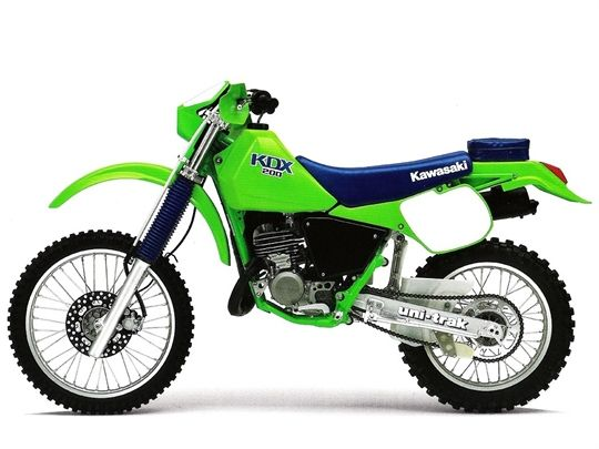1988 kawasaki kdx200 i had one of these what a ripper of a little