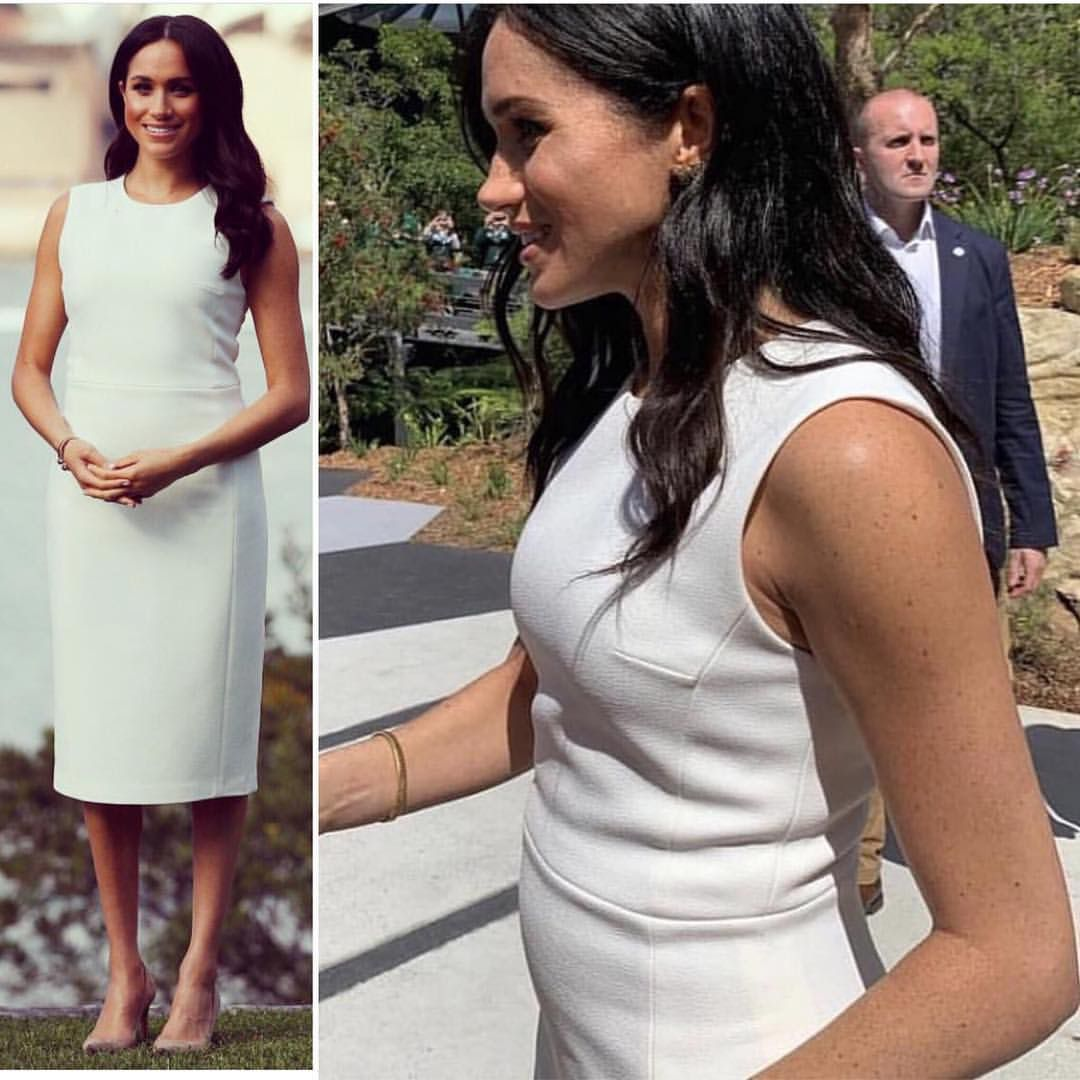 Meghan's Baby Bump...the Royals Just Announced Meghan Is