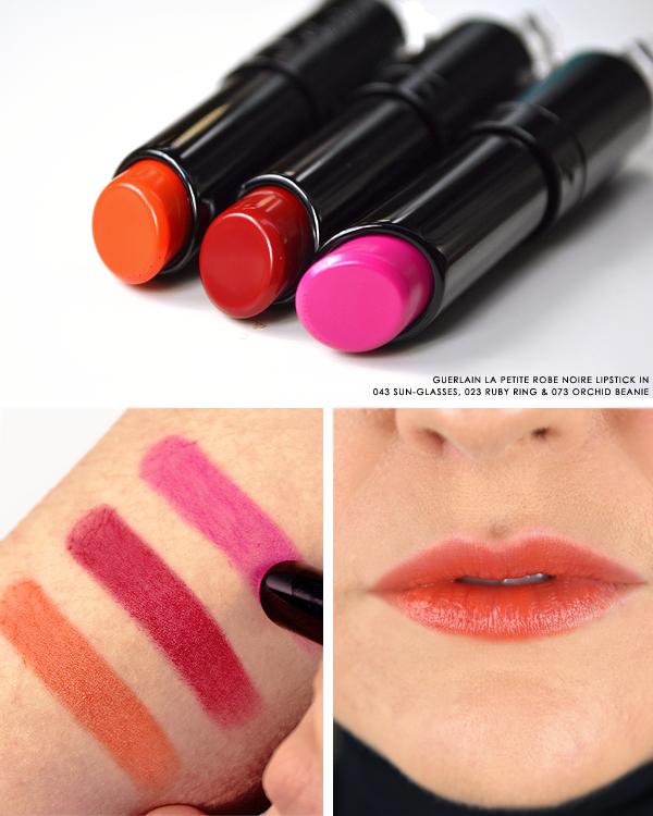 NEW! Guerlain La Petite Robe Noire Makeup | Lipstick