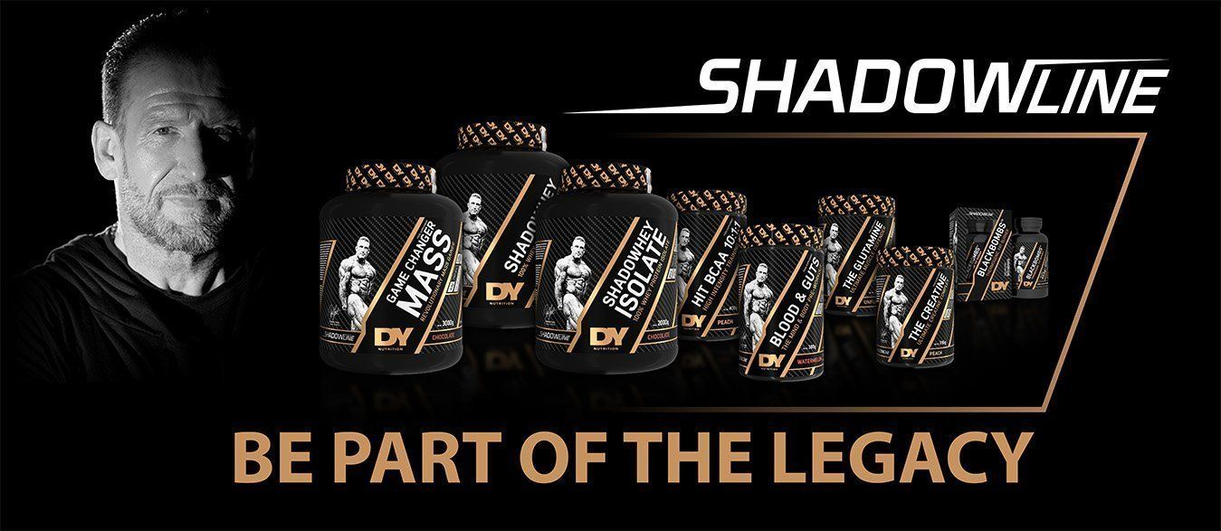 The new ShadowLine is HERE! | Dorian yates, Legacy, Sports supplements