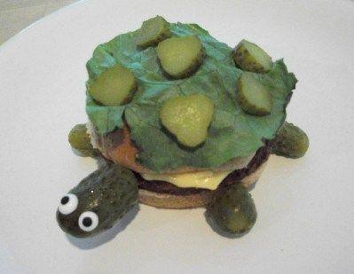 9 Wow Worthy Thanksgiving Food Art Ideas Kids Food Crafts Turtle Burger Fun Kids Food