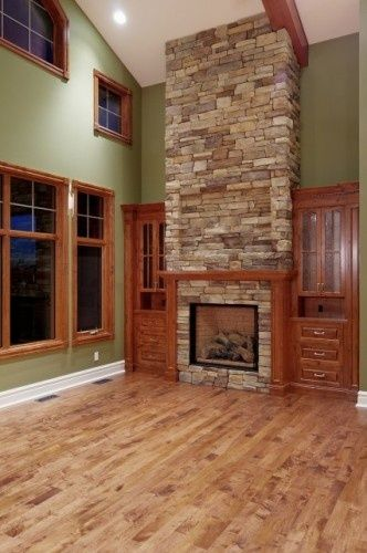 Both Wood And Oak Trim Idea For White Natural Stained