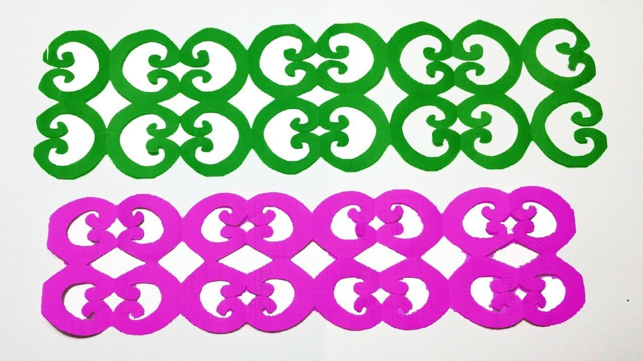 Paper Cutting Design How To Make Paper Cutting Border Design