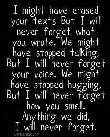 For My Past Love I Haven't Forgotten About You Quotes Pinterest Stunning Forgettable Memories Of One Plac Quotes