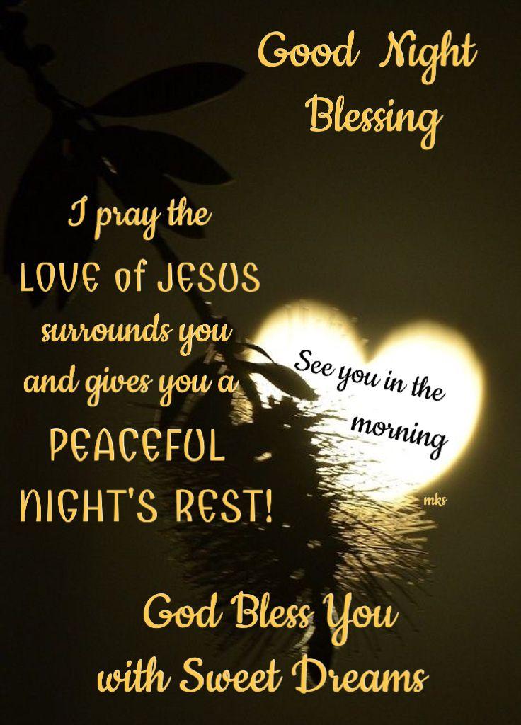 Good Night God Bless Inspirational Messages Good Night Night