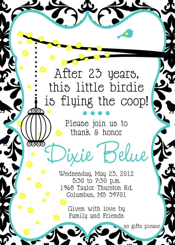 retirement party invitation via etsy retirement party