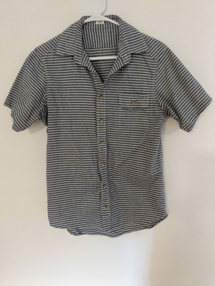 25c11431f Taylor Stitch Indigo Sailor Twitch Stripe Hand Made in California - S - 38  #fashion