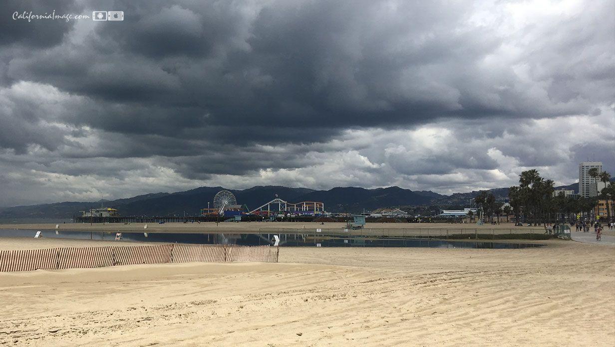 Beach Rain Cloud