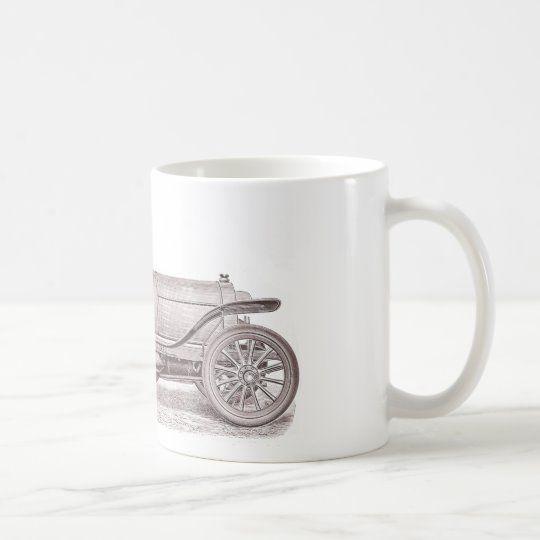 German Classic Car Mercedes Camille Jenatzy Coffee Mug | Zazzle.com