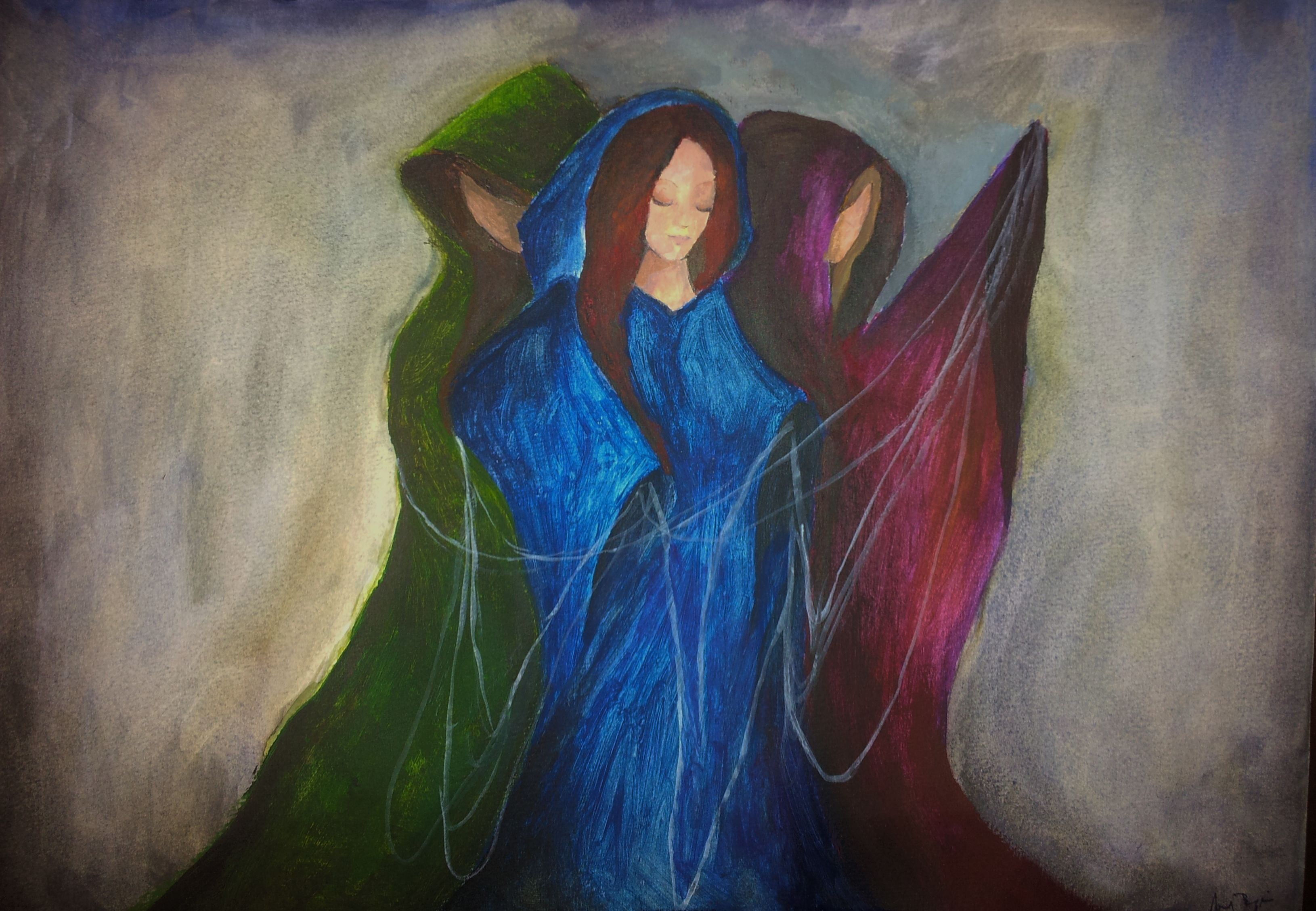 Norns - In Norse mythology, the Norns are three female ...