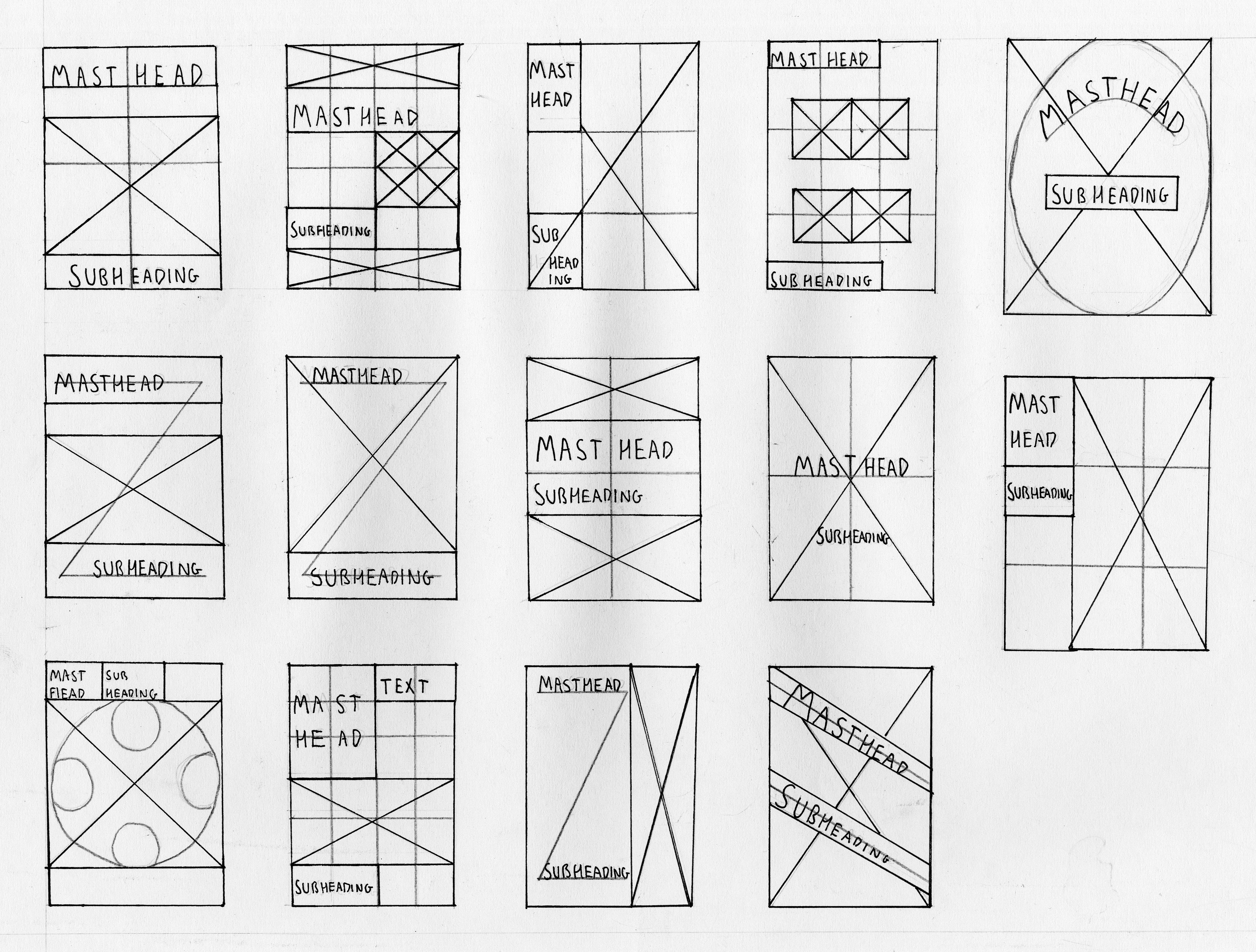 reticulas   Retículas   Pinterest   Diseño editorial, Editorial y ...