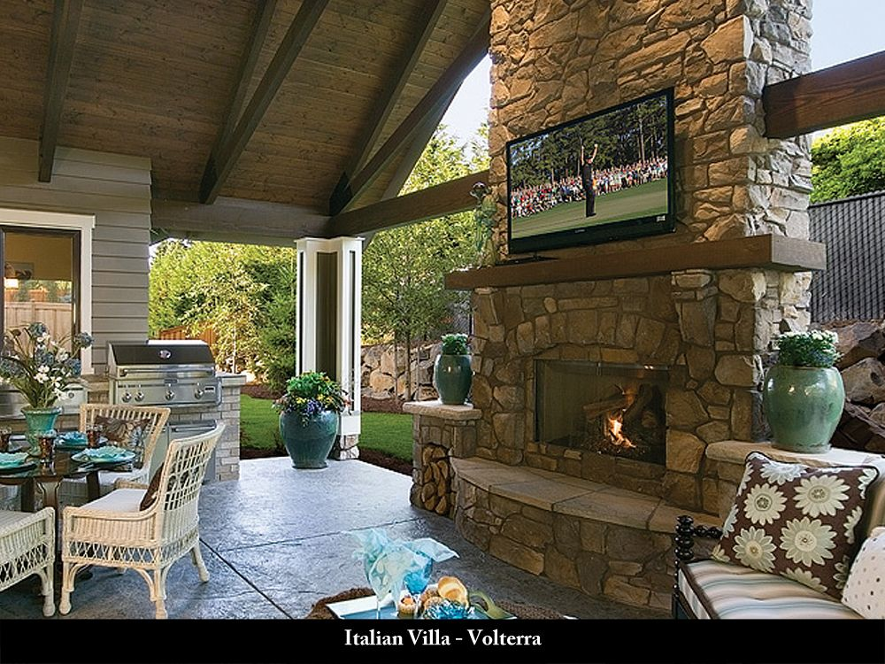 Coronado Stone Products Residential Projects Outdoor Living Patio Outdoor Fireplace Outdoor Living