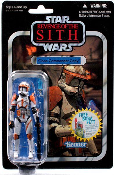 Vintage Style Commander Cody Action Figure Star Wars Toys Star Wars Action Figures Action Figures