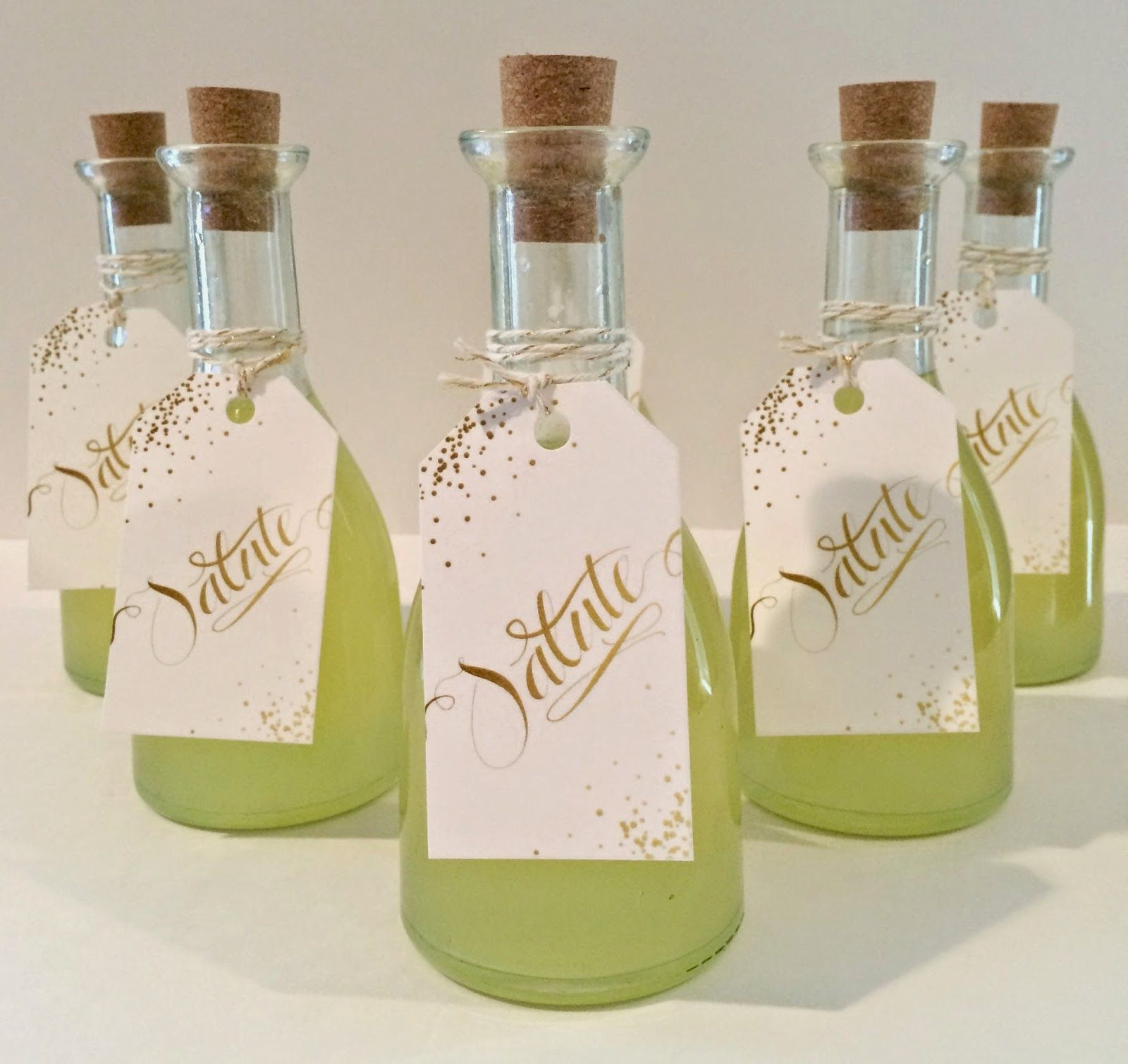 Dooley Noted Style: Limoncello Favor | Favorite favors | Pinterest ...