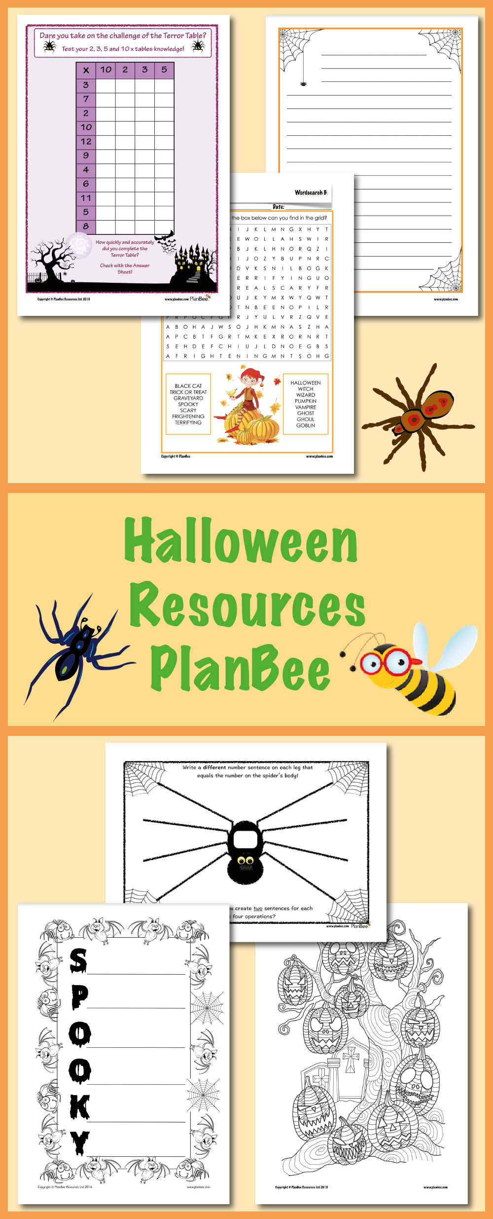 View and downloads loads of FREE Halloween resources for