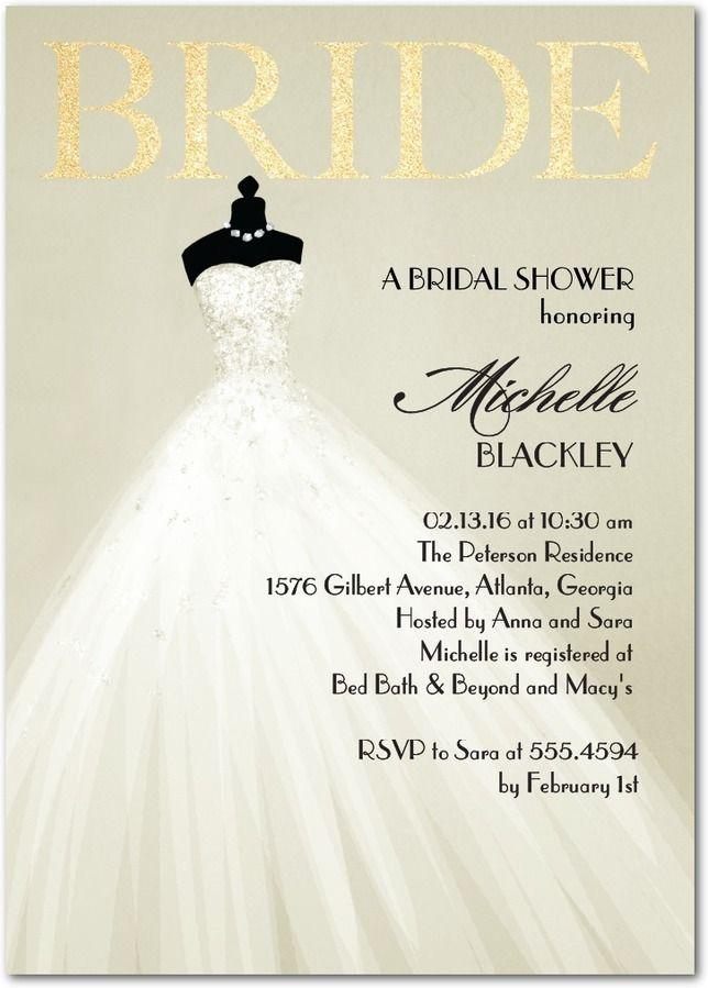 Bridal Showers Wedding Invitations Shower Announcements By Paper Divas