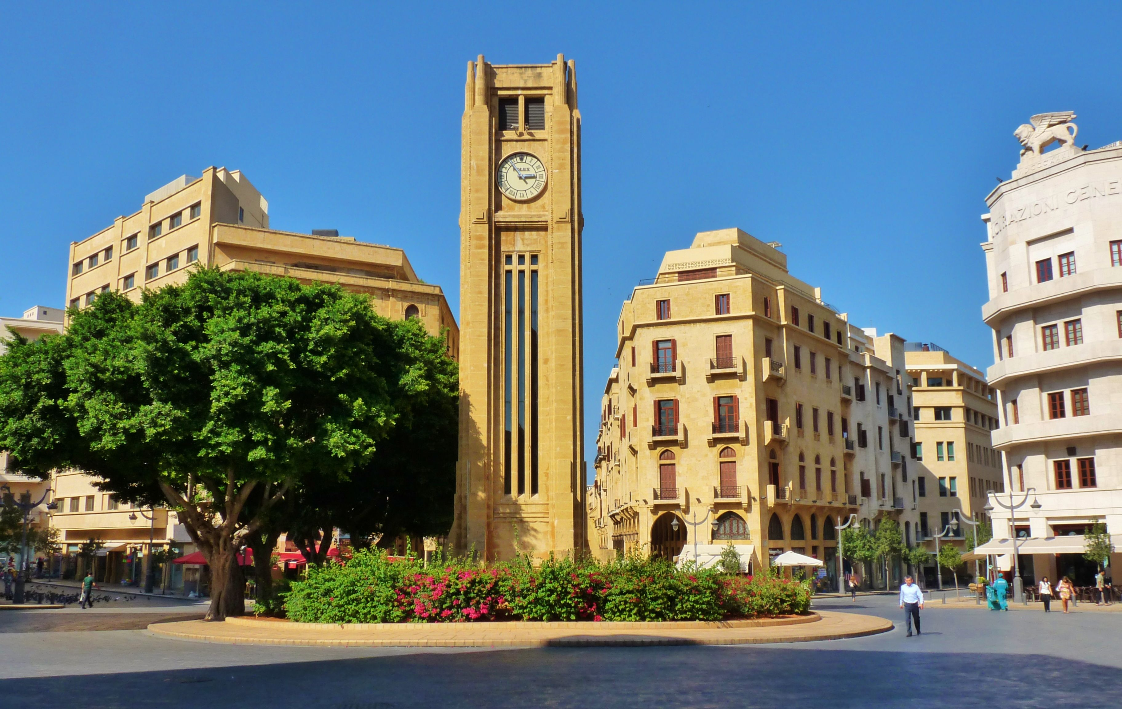 Clock Tower In Beirut Lebanon Beirut Famous Places Places To Visit