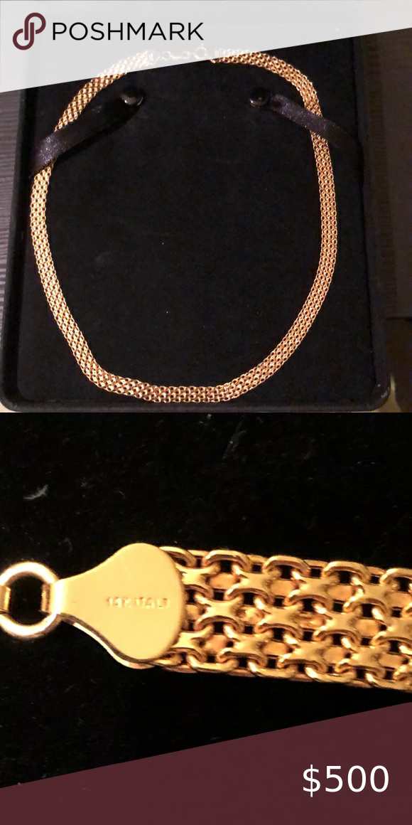 14k Necklace New In 2020 14k Necklace Qvc Jewelry Womens Jewelry Necklace