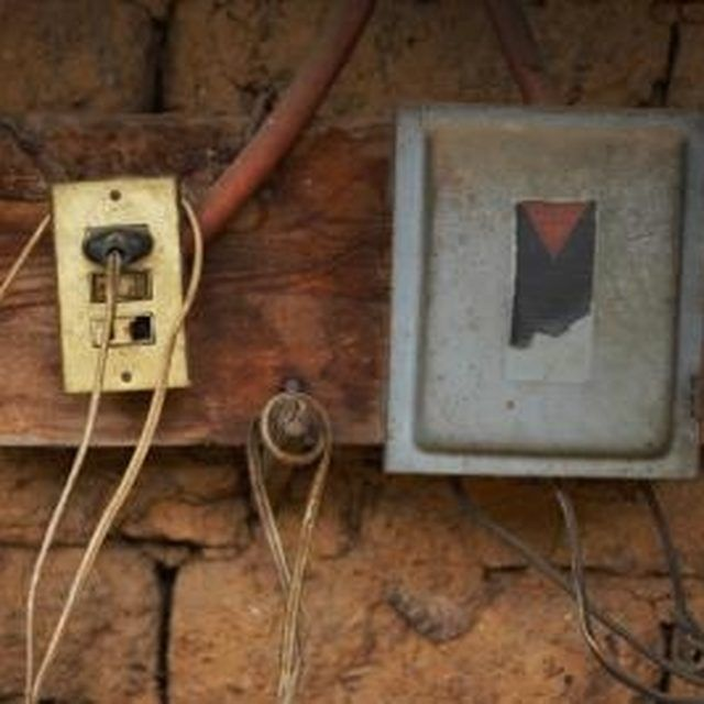 How To Rewire A House From Knob Tube Wiring Residential. How To Safely Remove Knob And Tube Electrical Wiring. Wiring. This Old House Electrical Wiring At Scoala.co