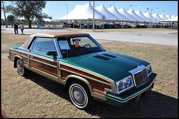 1984 Chrysler Le Baron Mark Cross T C Convertible Jpm