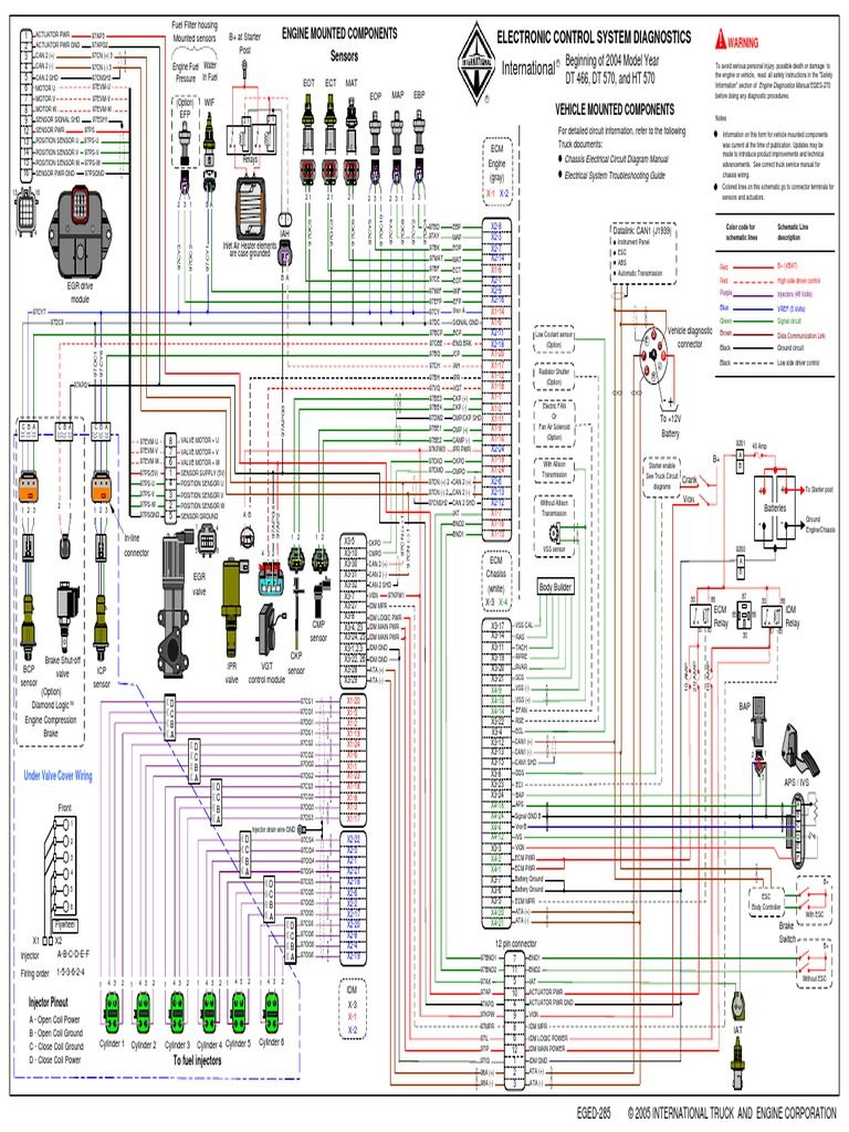 Dt466 Ecm Wiring Diagram