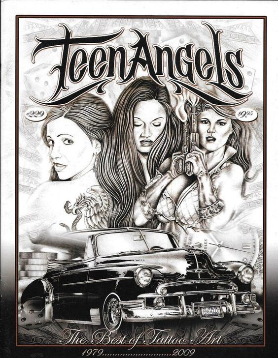 Think, that angel magazine teen chicano prison art have